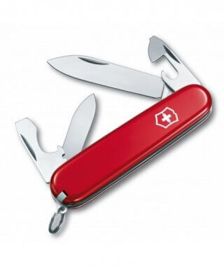 Victorinox Recruit Pocket Knife Red