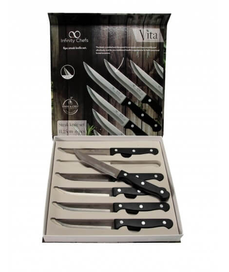 Infinity Chefs Steak knives 6 pieces