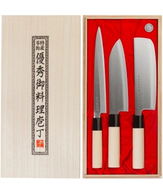 Satake knives, 3-pieces