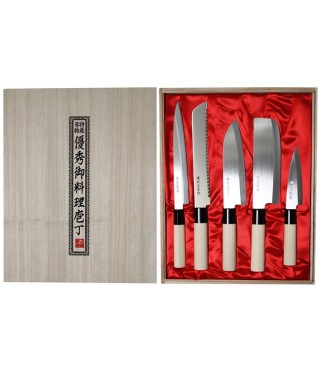 Satake knife-set, 5 pieces