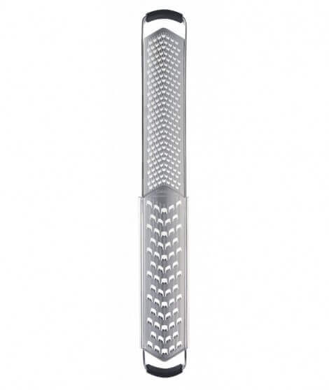Cuisipro Dual- Grater, coarse+fine, V-blade