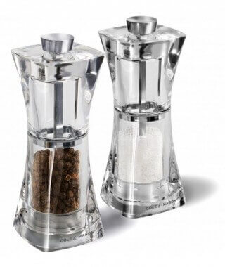 Cole & Mason Crystal Salt Mill acr. 12,5 cm